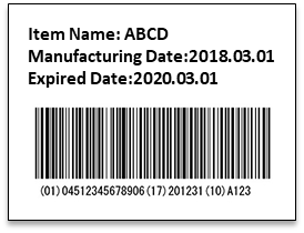 GS1 Code Label Printing & Verification (PSchouette)