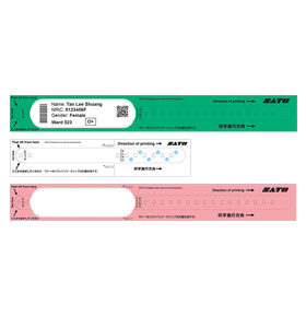 Thermal Transfer Wristbands