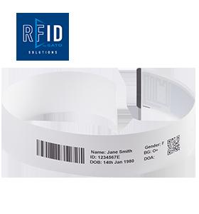 สายรัดข้อมือแบบ UHF RFID