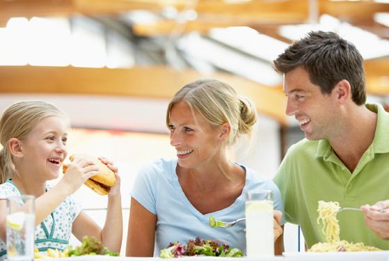 บริการด้านอาหารและการกระจายสินค้า